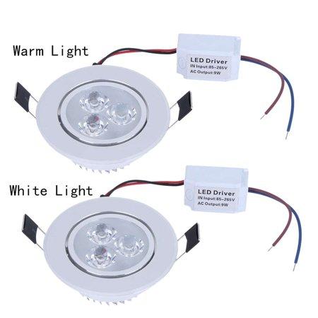 outdoorline 9W AC85-265V LED Ceiling Recessed Light LED ...