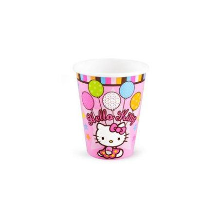 Hello Kitty 'Balloon Dream' 9oz Paper Cups (8ct) (Hello Kitty Centerpieces)