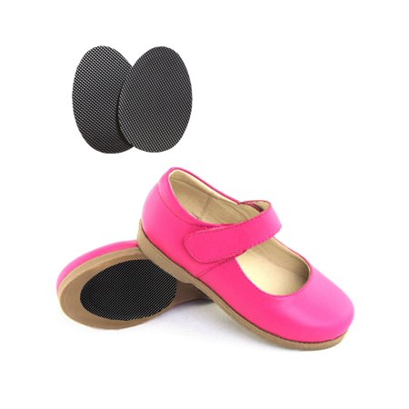 Shoes For Adults (Sole Savers Juniors (3 Pair)- Sole Protectors for Kids, Juniors, and Small Adult Shoe Sizes, Bottom of Shoe Anti-skid Pad, Non-slip Pad, For Special Occasion or Dress Up Shoes (Kids)