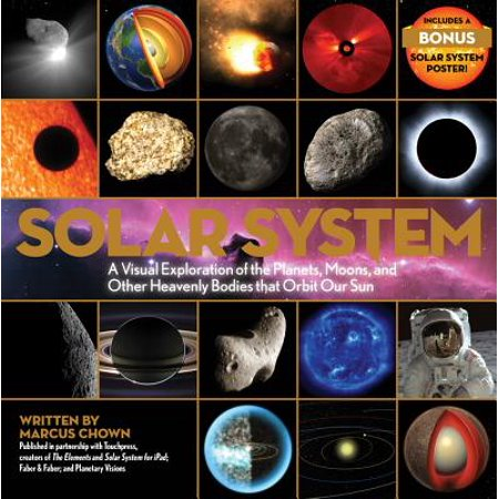 Solar System : A Visual Exploration of the Planets, Moons, and Other Heavenly Bodies that Orbit Our (Facts About The Planets And The Sun)