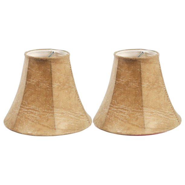 Urbanest 5 Faux Leather Chandelier Shade Set Of 2 Walmart Com Walmart Com