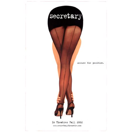 Victorian Secretary (Secretary (2002) 11x17 Movie Poster)