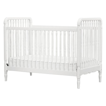 Million Dollar Baby Liberty 3-in-1 Convertible Crib with Toddler Bed Conversion