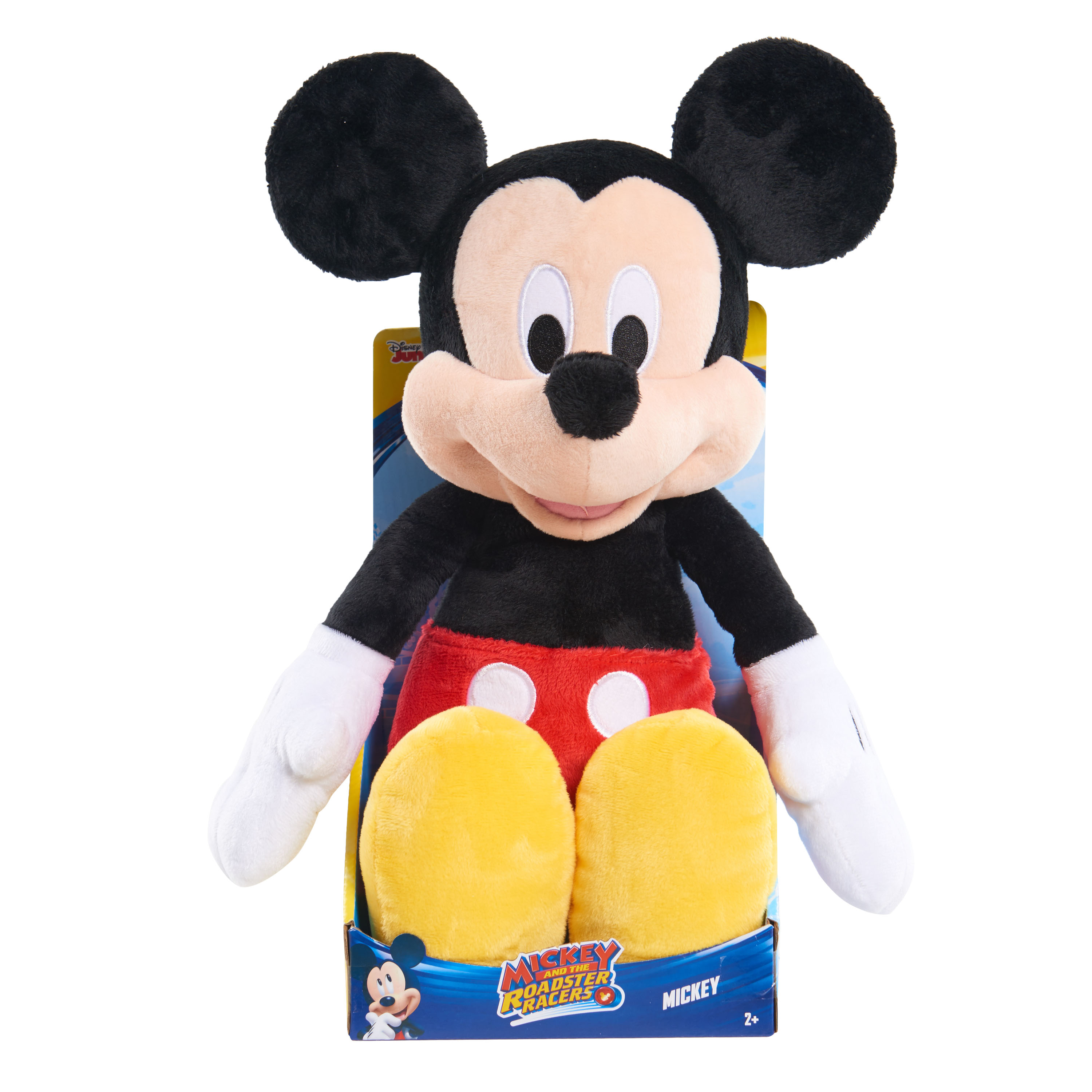 Mickey and the Roadster Racer Large Standard Plush - Mickey
