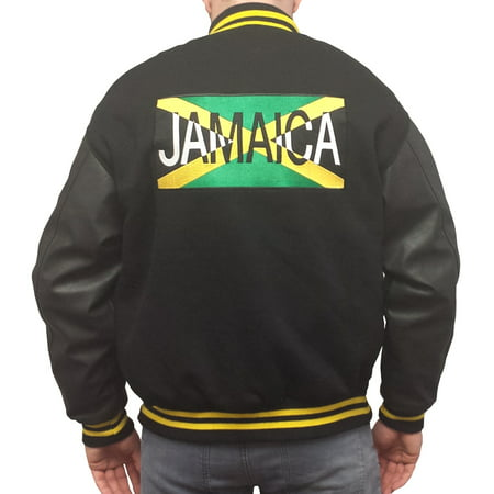 Running In Halloween Costumes (Jamaican Bobsled Team Jacket Cool Runnings Irv Blitzer John Candy 1988)