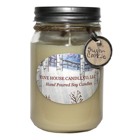 Cove House Candle Co Sugar Cookie Jar Candle