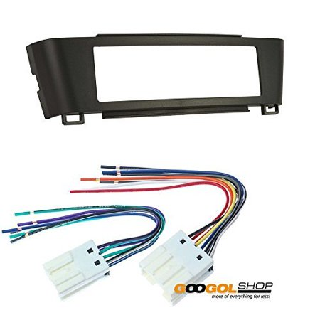 car stereo dash install mounting kit wire harness for. Black Bedroom Furniture Sets. Home Design Ideas