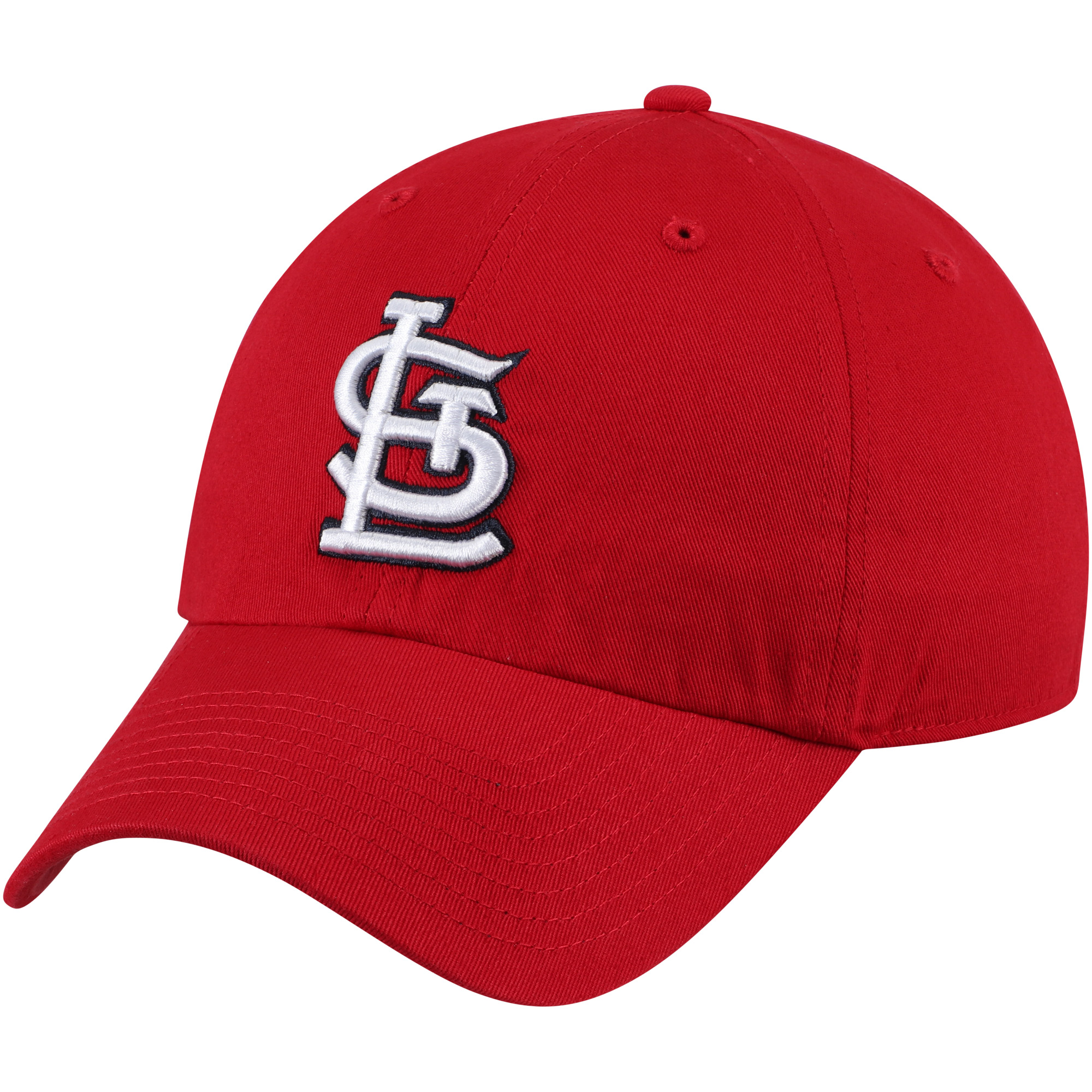 St. Louis Cardinals '47 Primary Logo Clean Up Adjustable Hat - Red - OSFA