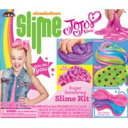 Nickelodeon Jojo Siwa Super Satisfying Slime Kit with Glue, Activator, Storage Container and Mix-ins!