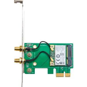 IO Crest SY-PEX23063 IEEE 802.11n Bluetooth 3.0 Wi-Fi/Bluetooth Combo Adapter