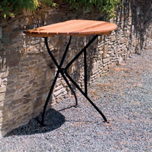 Haste Garden Rebecca Half Round Folding Table