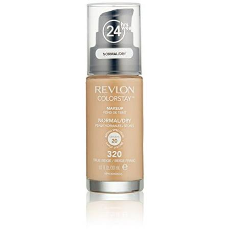 Revlon ColorStay Makeup For Normal/Dry Skin, True (Best Drugstore Cream Foundation For Dry Skin)