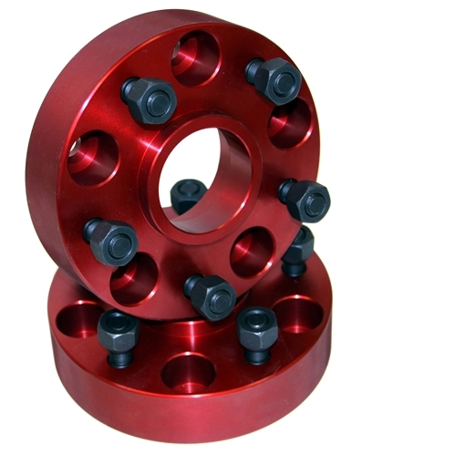 Alloy USA Wheel Spacers, 1.25 Inch; 84-06 Jeep Cherokee/Wrangler XJ/YJ/TJ 11301