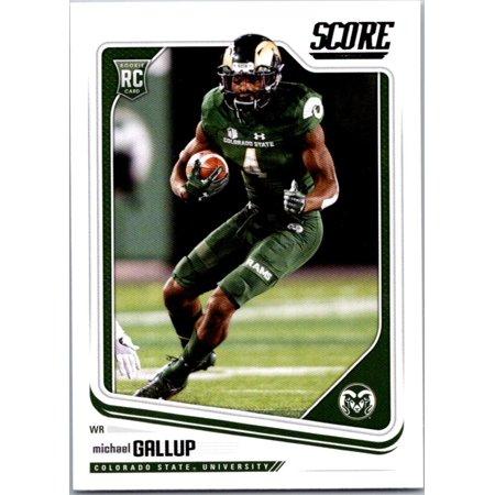 Rams Finger Football (2018 Score #388 Michael Gallup Colorado State Rams Football)