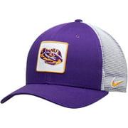 LSU Tigers Nike Classic 99 Alternate Logo Trucker Adjustable Snapback Hat - Purple - OSFA