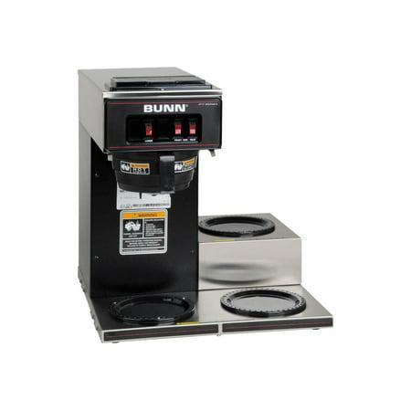 Bunn Vp17-3 Blk Pourover Commercial Coff