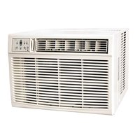 Keystone 25,000/24,700 BTU 230V Window/Wall Air Conditioner with 16,000 BTU Supplemental Heat Capability