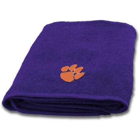 NCAA Clemson University Decorative Bath Collection Bath Towel ...