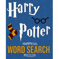 Harry Potter Unofficial Word Search Puzzles: Over 100 Puzzles - Great Gift Book For Kids (Paperback)