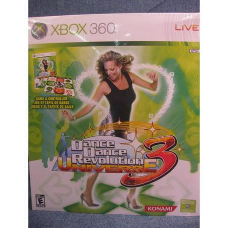 Dance Dance Revolution Universe 3 With Dance Mat   Xbox 360