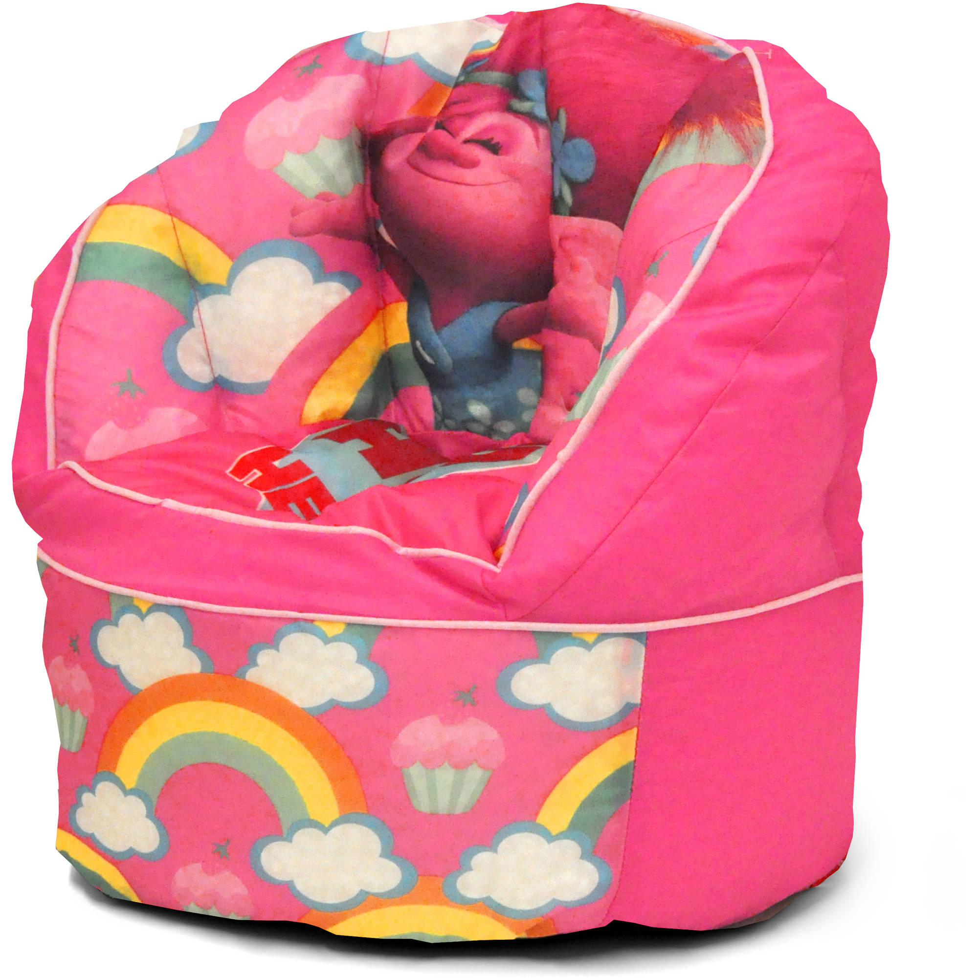 Trolls Bean Bag Chair, Pink