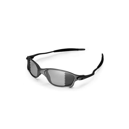 8369ce1d7e Walleva - Walleva Black Polarized Replacement Lenses for Oakley X Metal XX  Sunglasses - Walmart.com