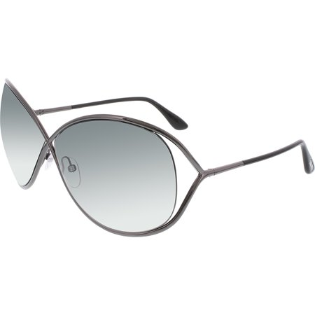 Tom Ford Women's Gradient Miranda FT0130-08B-68 Gray Butterfly Sunglasses