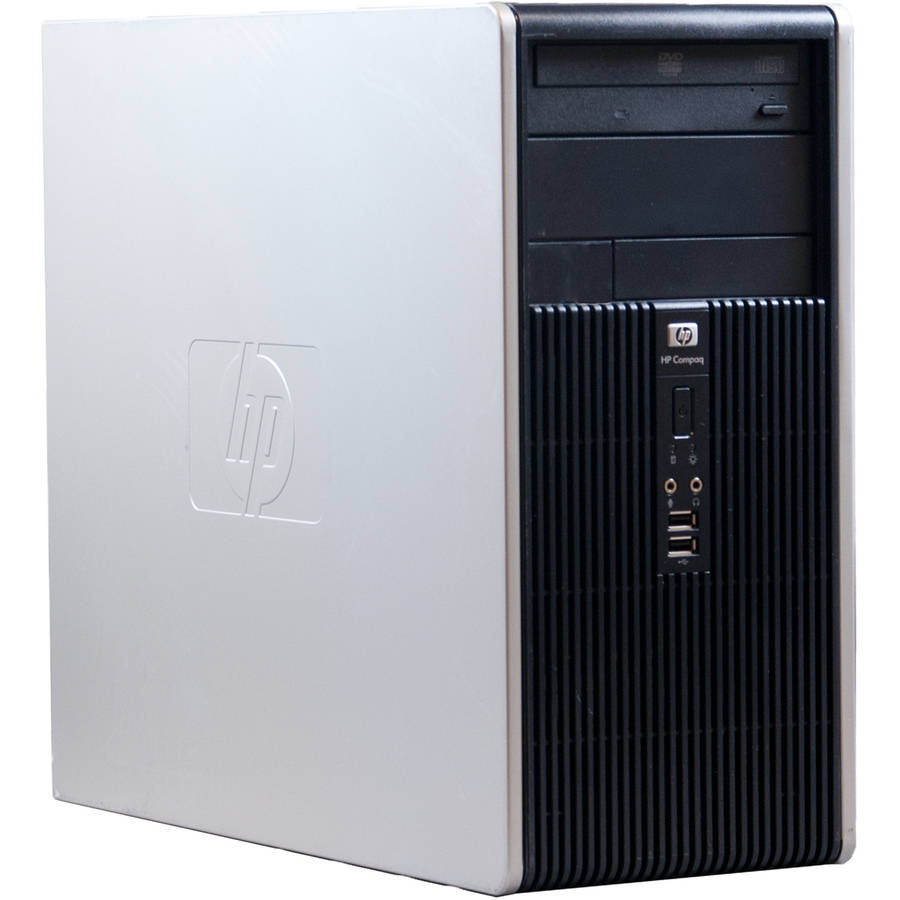Refurbished HP Black DC5750 Desktop PC with AMD Athlon 64 X2 Dual-Core Processor, 2GB Memory, 500GB Hard Drive and Windows 7 Home Premium (Monitor Not Included)
