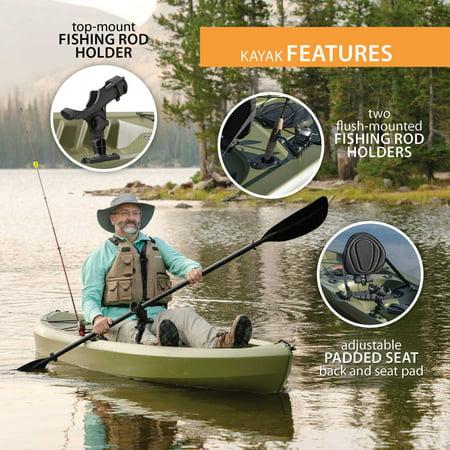 Lifetime Tamarack Angler 100 Fishing Kayak (Paddle Included