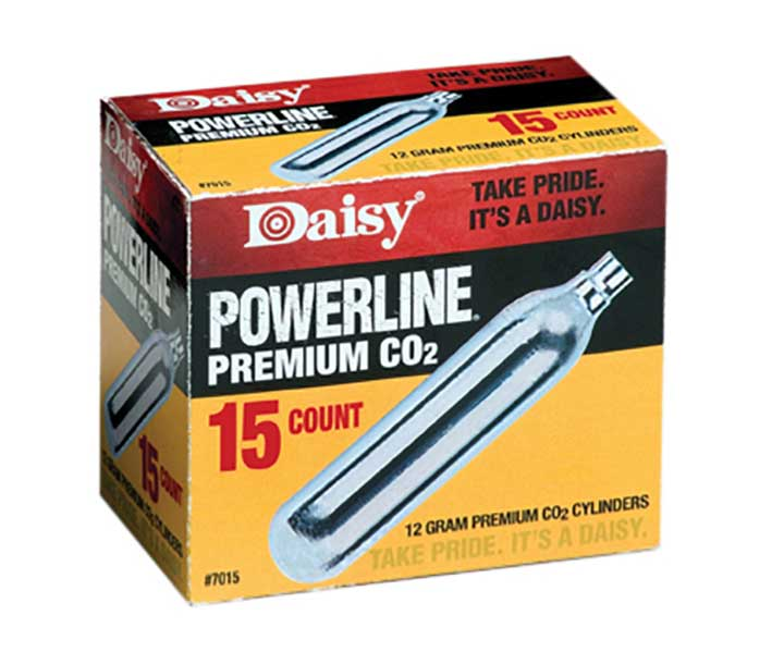 Daisy Ammunition and CO2 7015 15 ct. CO2 Cylinders by Daisy