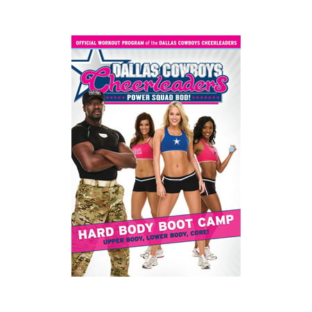 Dallas Cowboys Cheerleaders: Hard Body Boot Camp - Dallas Cowboys Cheerleader