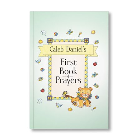 My First Book of Prayers - Personalized Book - Personalized First Birthday Book