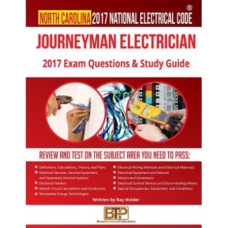 North Carolina 2017 Journeyman Electrician Study Guide (Sm North Halloween 2017)