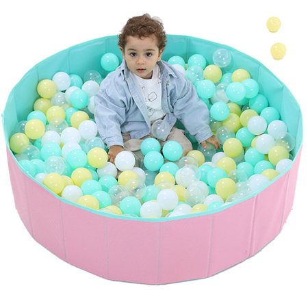 Infant Shining Ball Pits Foldable Ball Pool Ocean Ball Playpen Washable Toy - image 6 of 7
