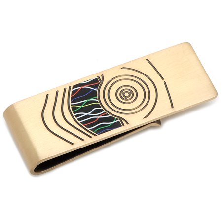 C3PO Stainless Steel Money Clip