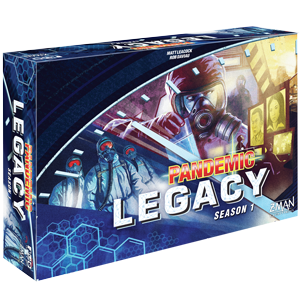 Pandemic Legacy Strategy Board Game Season 1 (Blue)