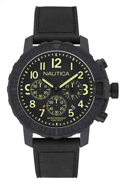 NAUTICA MEN'S WATCH NMS 01 45MM by Nautica