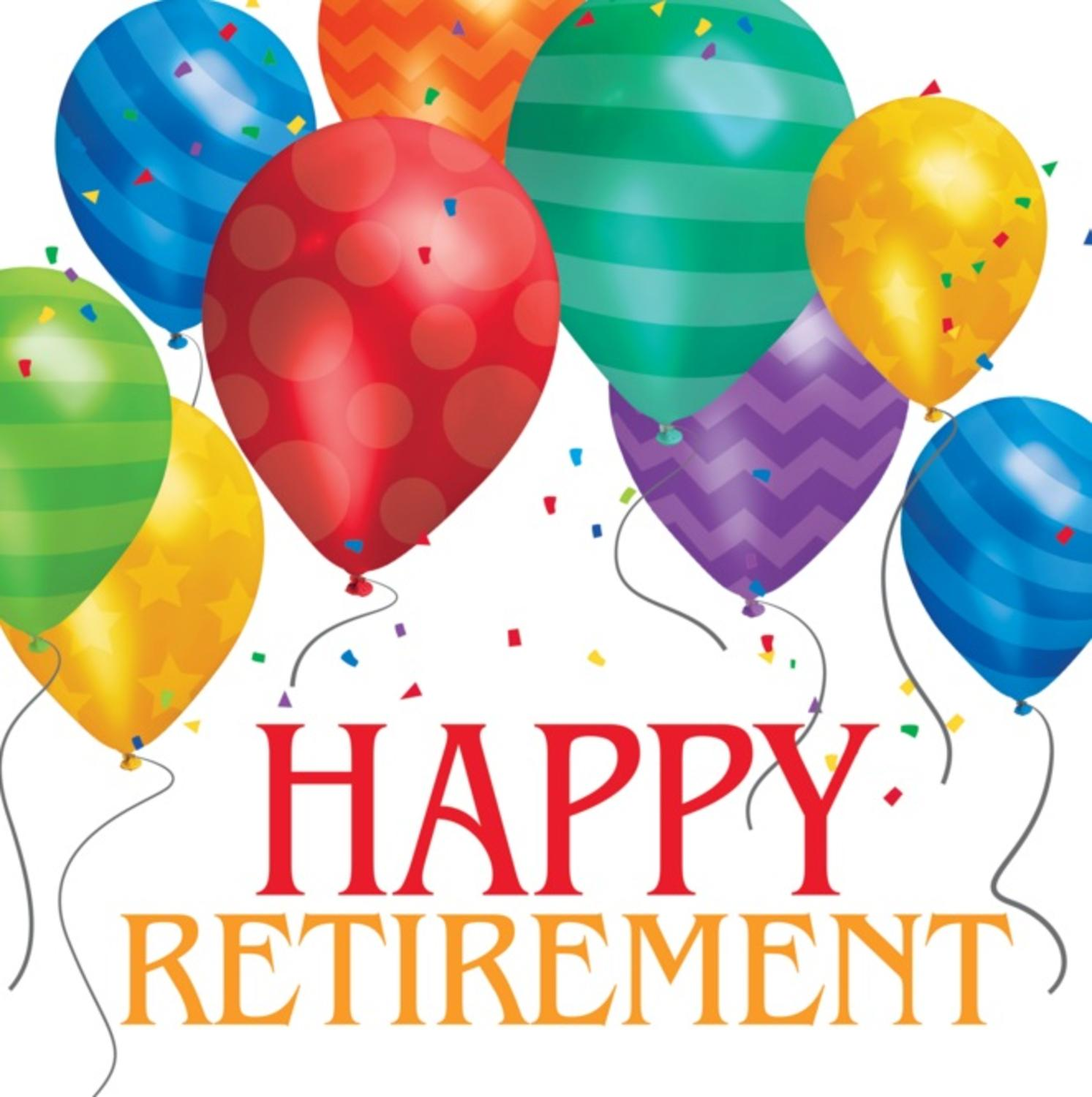 """Club Pack of 192 Multi-Colored Bright and Bold """"Happy Retirement"""" Lunch Napkin 6.5"""""""