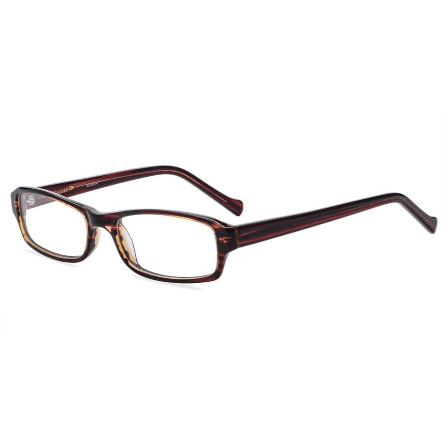 Contour Womens Prescription Glasses, FM11021 Brown Stripe