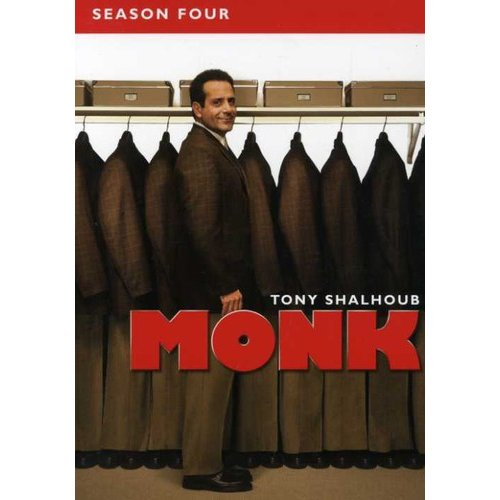 Monk - Monk: Season 4 [DVD]
