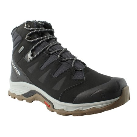 Salomon Mens Ski Boots (Salomon Men's Black Hiking Trail Boots Size)