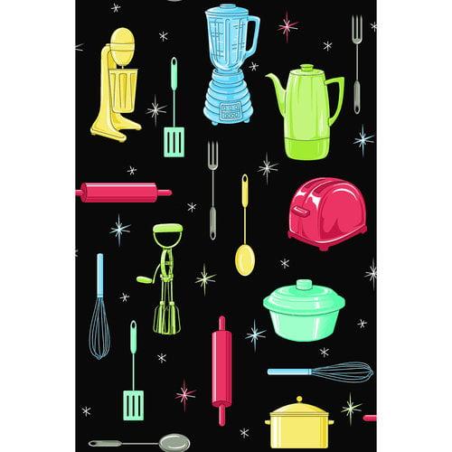 Kitchen Motif Fabric
