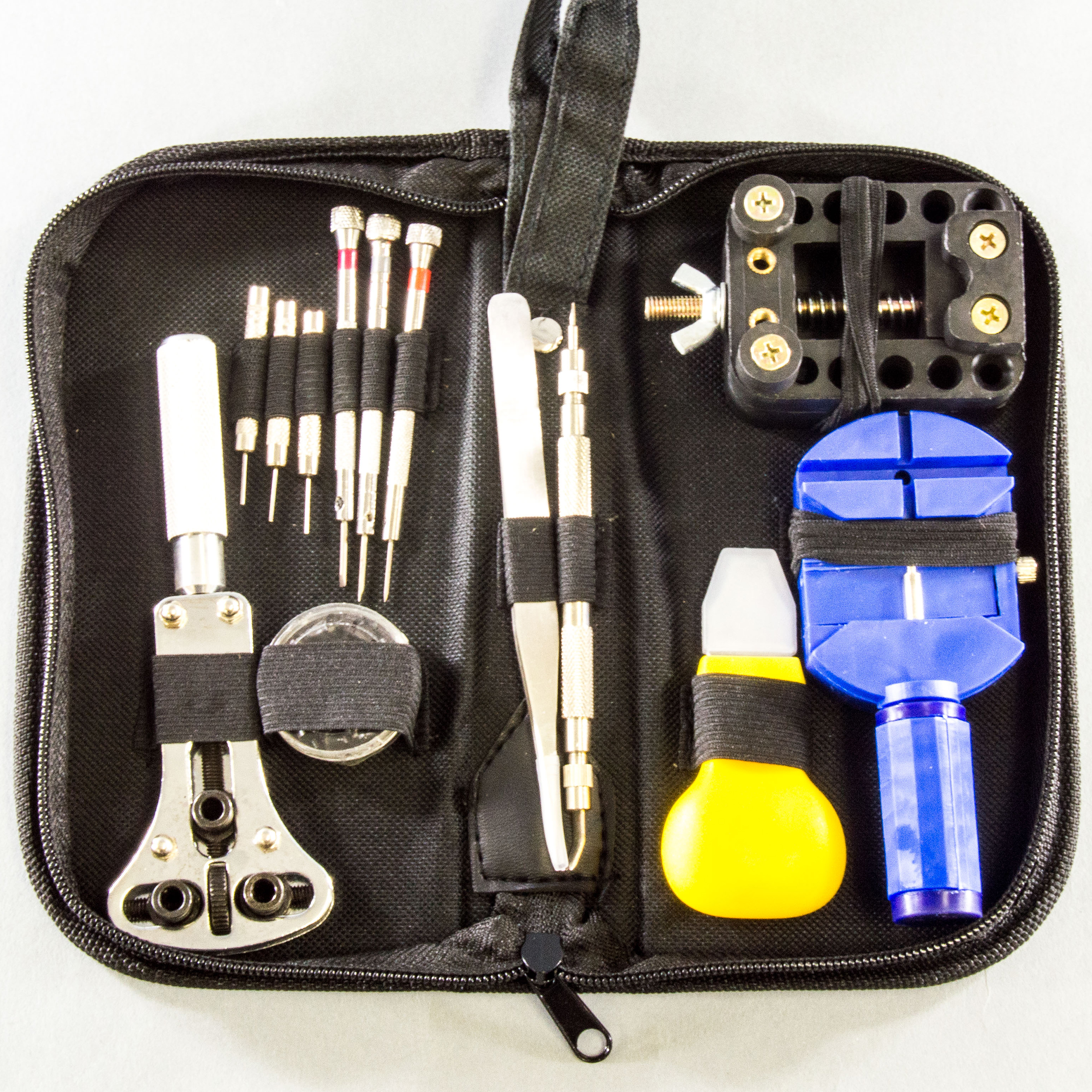 13-Piece Watch Repair Tool Kit With Pouch