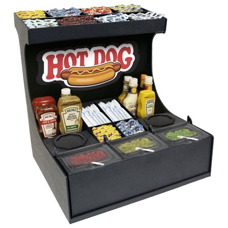 - Condiment Organizer Convenience Store Professional Serving Station.