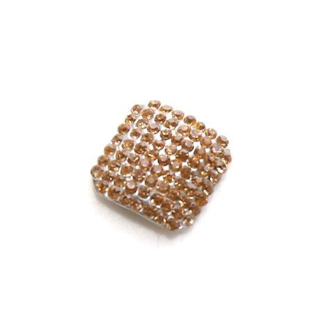 Gold Tone Nail Art Salon Faux Rhinestones DIY Toes Tips Glitter Jewels Decals (Rhinestones Glitters Gems)