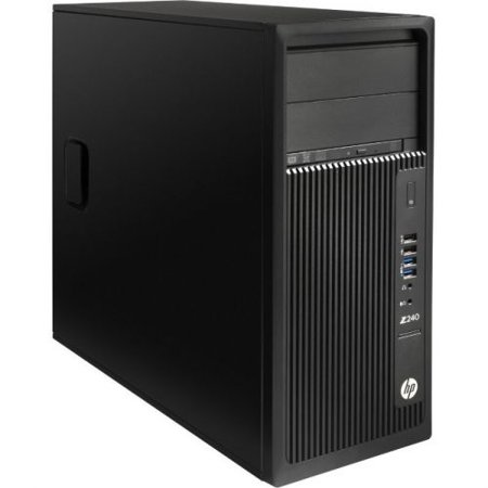 HP Z240 Workstation - 1 x Intel Core i5 (7th Gen) i5-7500