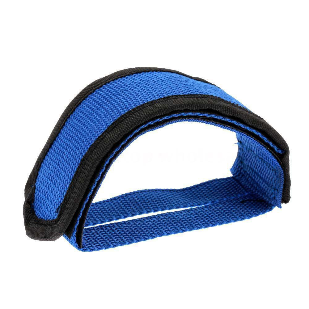 DZT1968 Fixie BMX Fixed Gear Bike Bicycle Adhesive Straps Pedal Toe Clip Strap Belt Cn