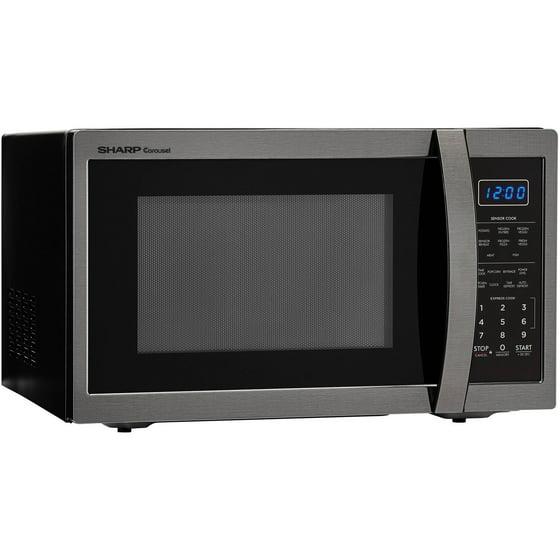 Sharp Zsmc1452ch 1 4 Cu Ft Microwave Black Stainless Steel