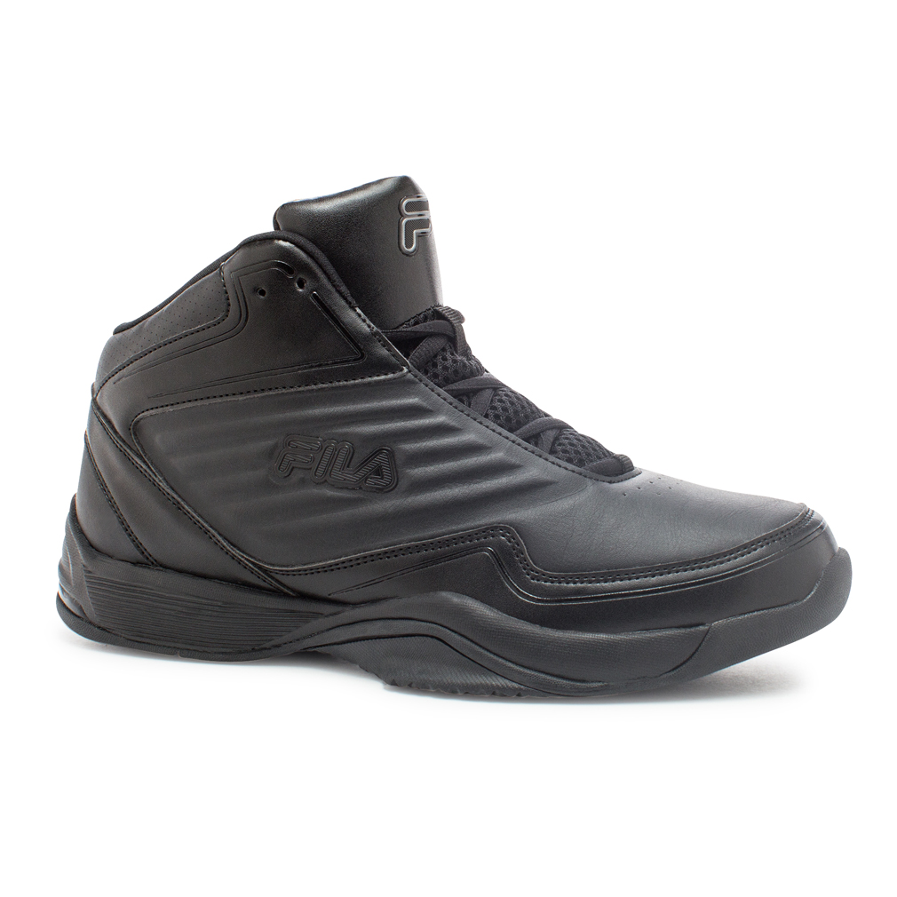 Fila IMPORT Mens Black High Top Athletic Basketball Sneaker Shoes by Fila
