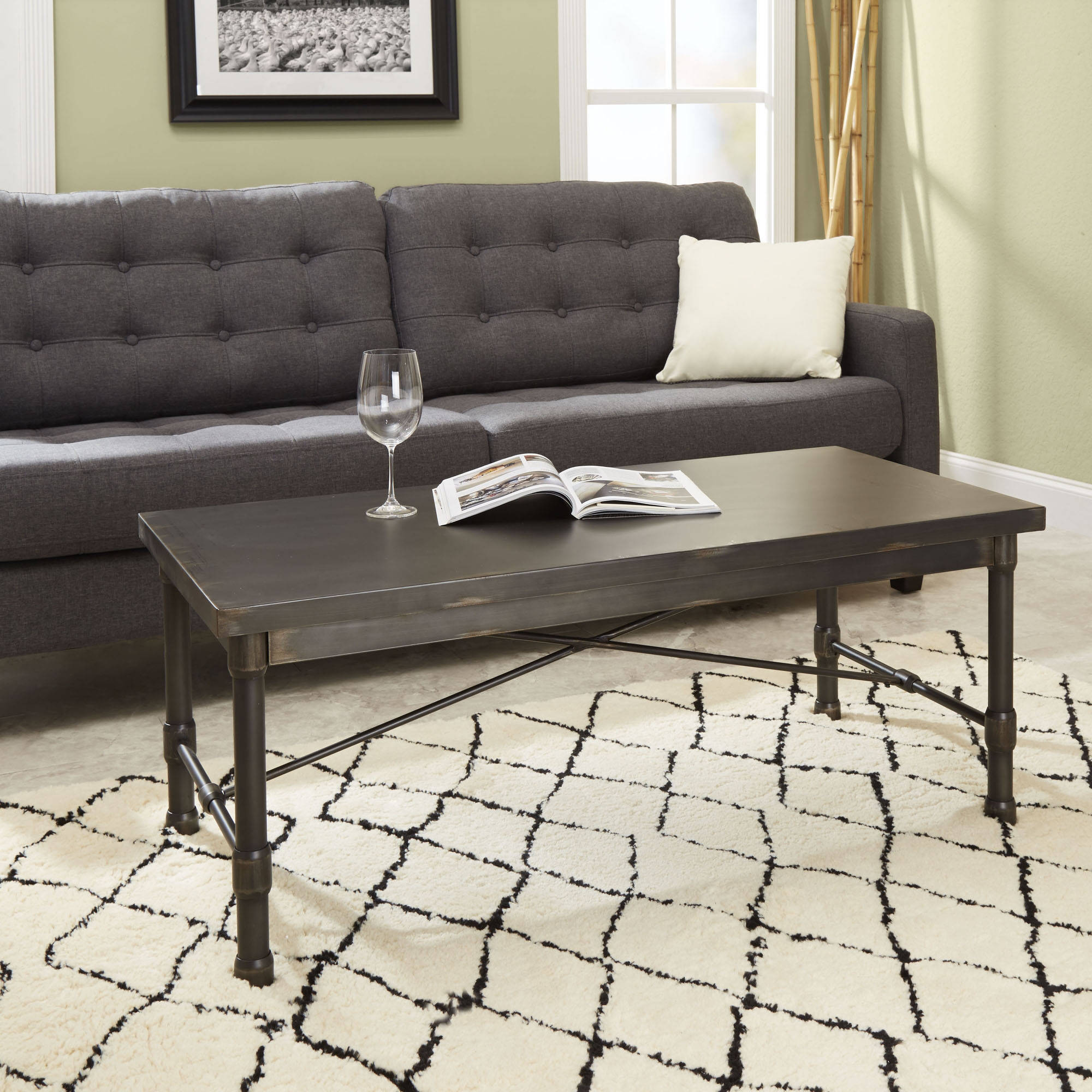 Silverwood Oxford Industrial Collection Coffee Table